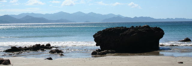 This is photo shot of Bahia Santa Elena looking at the vast Santa Rosa National Park, on the Pacific Coast of Costa Rica
