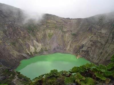 The Irazu Volcano - small