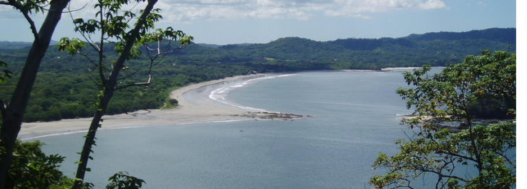 On Costa Rica's North West Pacific Coast, in support of Francisco Rodrigez de Playa Brasilito