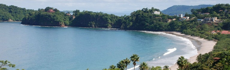 Playa Flamingo on the Northwest Pacific Coast is one of Costa Rica's most popular tourist destinations among both locals and foreigners.
