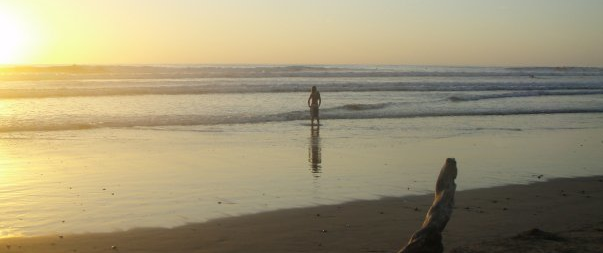 Travel and Surf Destination on the Pacific Coast of Costa Rica