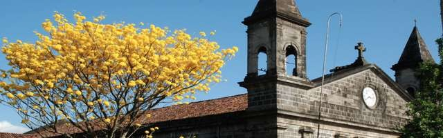 here is one of the many churches depicted found in Heredia