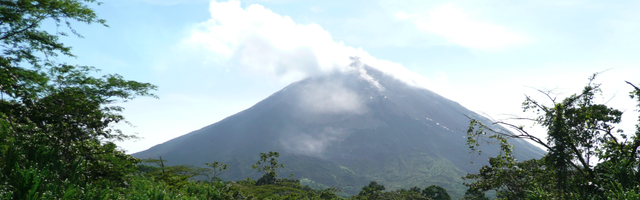 Alajuela Province of Costa Rica. most active volcano of costa rica